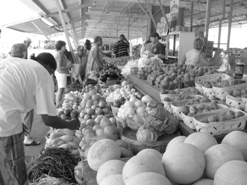 People can enjoy the fresh fruits and vegetables at San Diego's local farmer's markets.
