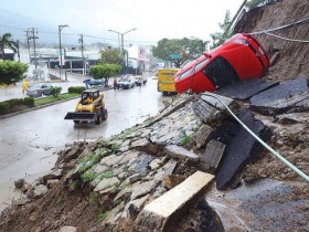 Hurricane Odile caused major damage to Cabo San Lucas and the surrounding areas.