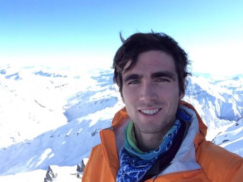 Senior Clay Mosolino finds enjoyment hitting the slopes on some of New Zealand's most majestic peaks and mountains.