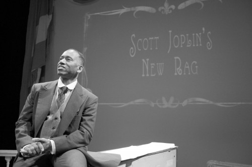 "Robert Barry Fleming exhibits his wide array of talents in his one-man play, ""Scott Joplin's New Rag."""