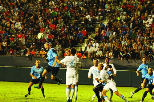 USD men's soccer team defeats UCLA in a 1-0 victory.