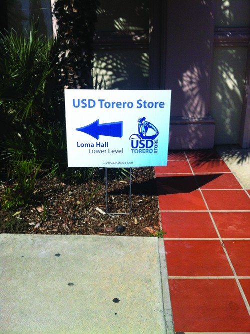 The Torero Store has already begun to prepare for its move to Plaza Menor.